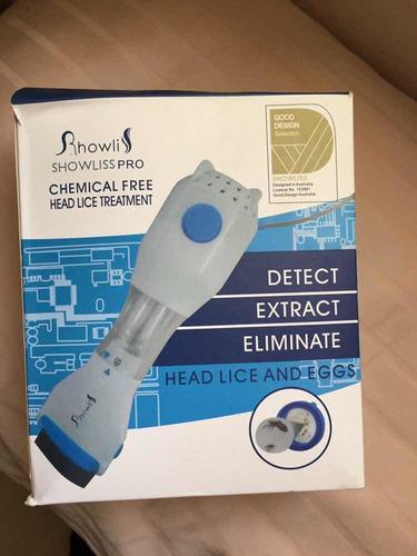 peine eléctrico para piojos - como nuevo-
