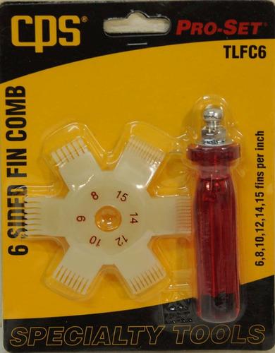 peine estrella para serpentina aire acondicionado cps tlfc6
