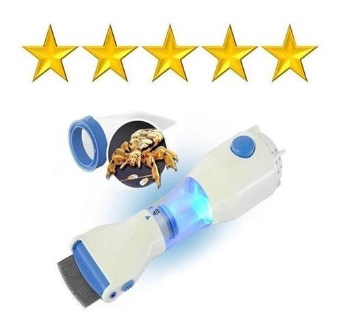 peine fino aspiradora piojos liendres con 5 filtros mli