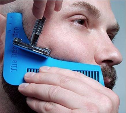 peine guía perfilar   la barba (11cm)  beard shaper 100% ori