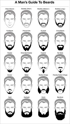 peine para barba boxan, bx1708
