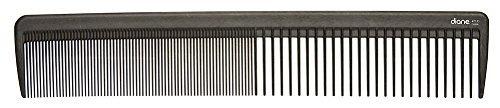 peine para cabello diane d7131, de carbono, 8 1/2