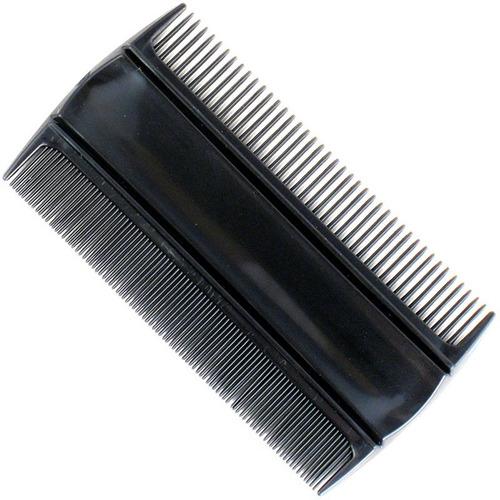 peine quita piojos caspero de plástico negro x 1 p1211