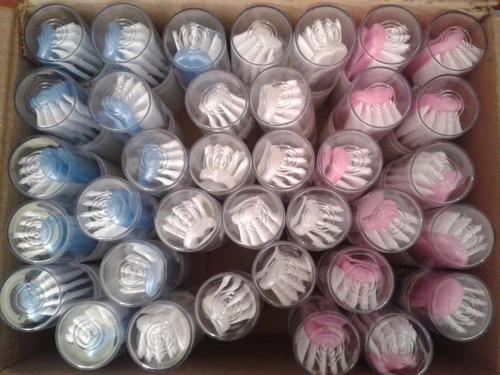 peines y cepillos para bebes caja 36 unid