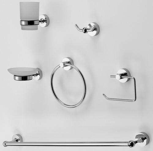 peirano set de accesorios para baño linea 3000 6 piezas