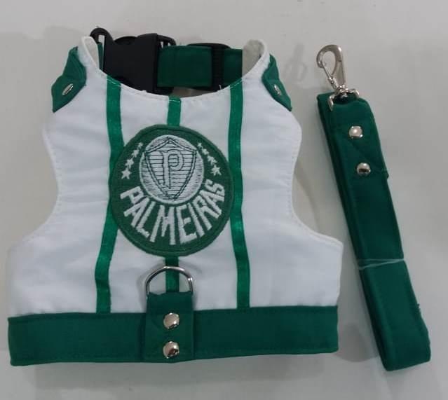100a613f40 Peitoral Colete Pet Palmeiras - R  68