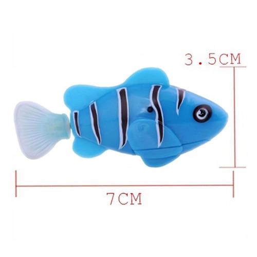 peixe robo robótico que move na água s/ controle remoto fish