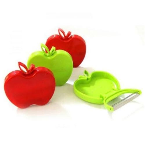 pelador, cortador de manzanas, frutas, easy slicer corta fác