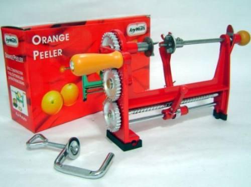 pelador manual naranja