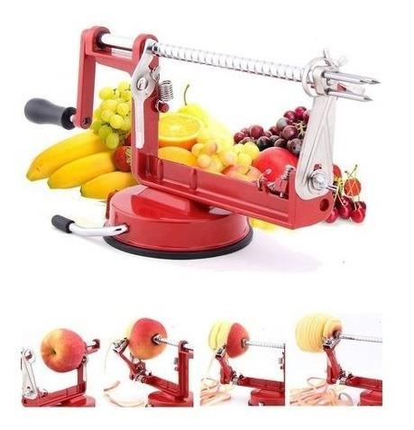 pelador metálico inoxidable frutas & más - naranjas-manzana