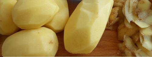 pelador papas frutas verduras pelapapas acero