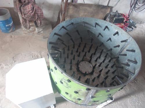 peladora de lechon  y pollos con motor de2hp