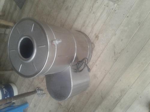 peladora de papas industrial de 25 lb.