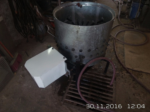 peladora de pollos centrifuga