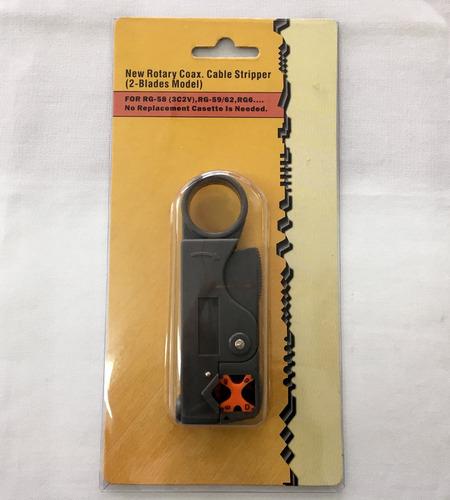 peladora para cable coaxial
