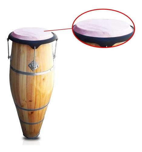 pele couro para atabaque bongo pandeiro 45cm