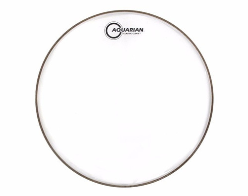 pele para bateria aquarian drumheads 12 cc12 classic clear