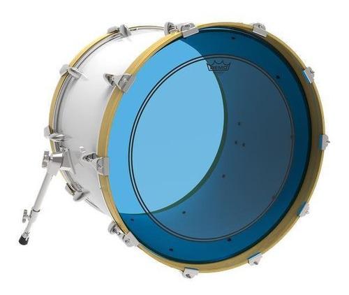 pele remo powerstroke 3 colortone blue/red 20  c/anel muffle