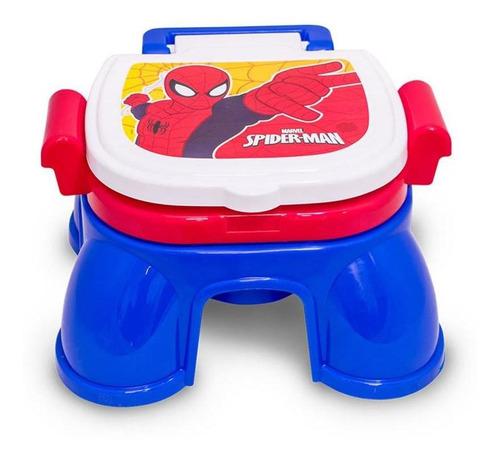 pelela infantil 3 en 1 spiderman reductor con potarollo