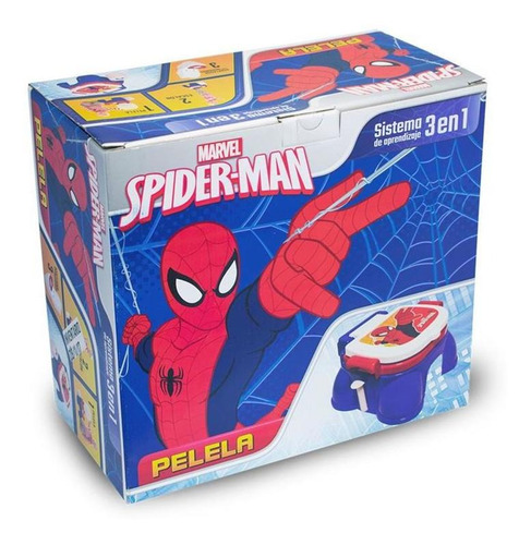pelela infantil 3 en 1 spiderman reductor con potarollo cuot