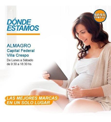 pelela infantil bebes 3 en 1 con adaptador baby co babymovil