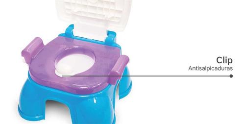pelela infantil nena frozen 3 en 1 adaptador escalon portaro