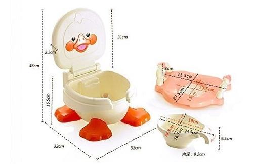 pelela infantil niño duck patopotty 3 en 1 hasta los 5 años