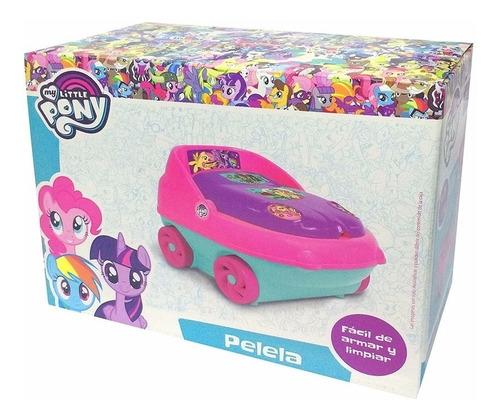 pelela nena my little pony 3 en 1 con porta rollo
