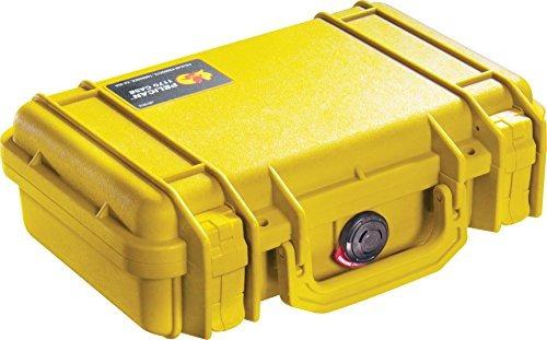 pelican 1170 caso con espuma (amarillo)