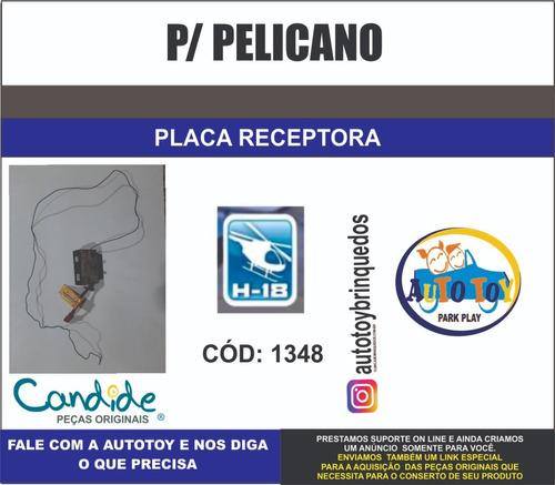 pelicano 1348 - h-18  - placa receptora