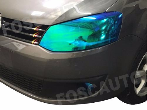 película adesivo camaleão lanterna farol carro / 1m x 30cm