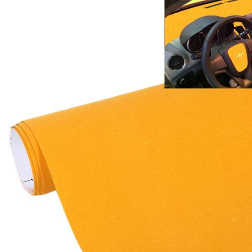 pelicula auto abrigo alto brillo fibra carbono amarillo