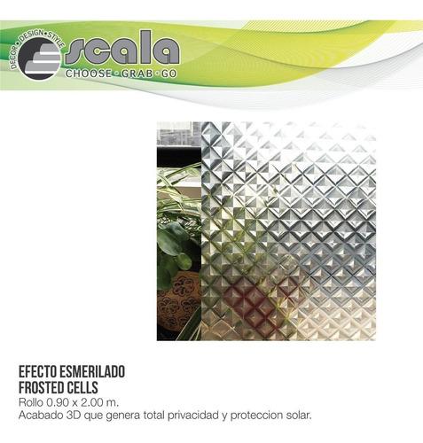 película autoadhesiva etched cells 90 x 200