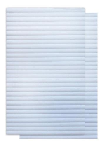 película autoadhesiva frosted mini blind 60 x 200