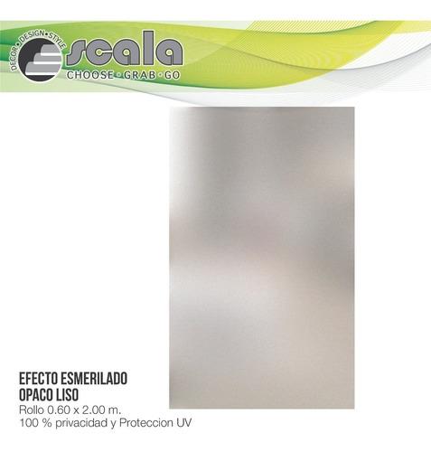 película autoadhesiva opaco liso white 2d 60 x 200