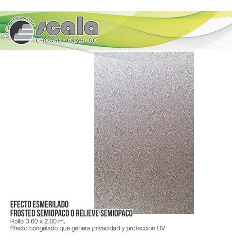 película autoadhesiva relieve semi opaco 2d 60 x 200