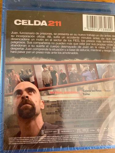 película blueray celda 211