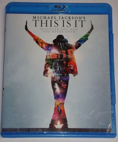 película bluray original this is it - michael jackson widesc