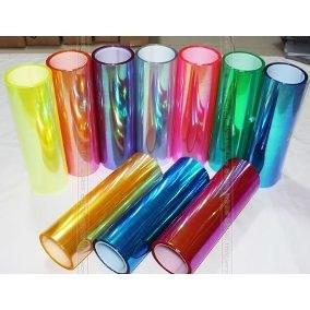película camaleão transparente farol lanterna com 0,30m x 1m