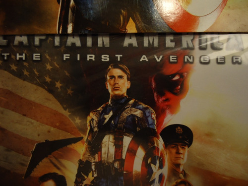 pelicula  captain america  the first avenger   blu-ray