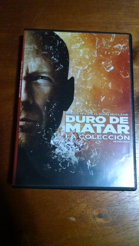 pelicula - colección duro de matar - dvd original