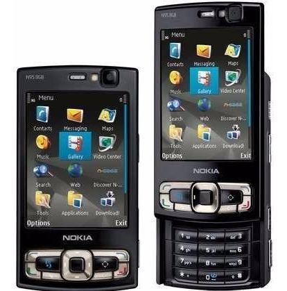 Nokia Para N95 8gb De Tela Transparente Plastico Pelicula