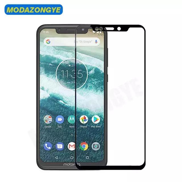 d54c52a38 Película De Vidro 3d Motorola One (xt1941) Tela 5.9 - R  29