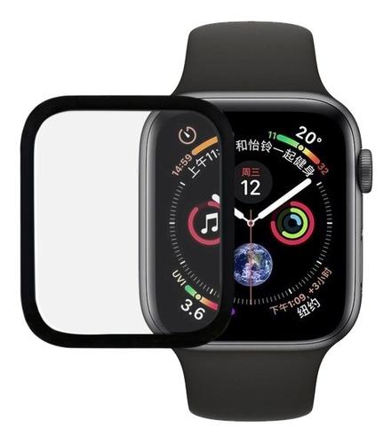 película de vidro 3d para apple watch 5 40mm series 5