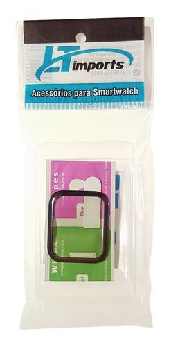 película de vidro 3d para apple watch 5 44mm series 5