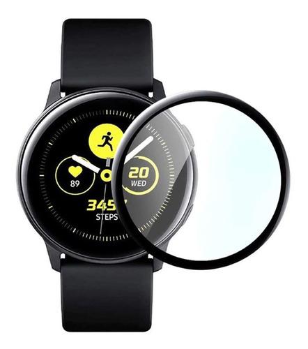 película de vidro 3d para galaxy watch active 40mm sm-r500