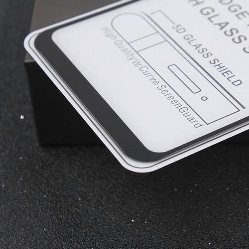 película de vidro 5d xiaomi pocophone f1 tela 6.18 full glue