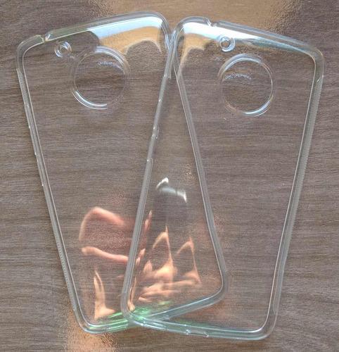 película de vidro + capa tpu motorola moto g5 xt1672