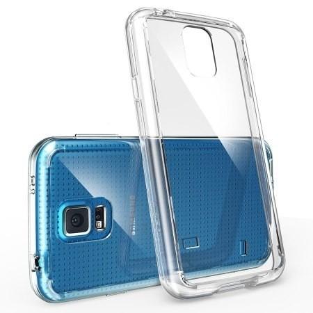 película de vidro com capa transparente samsung s5(mar azul)