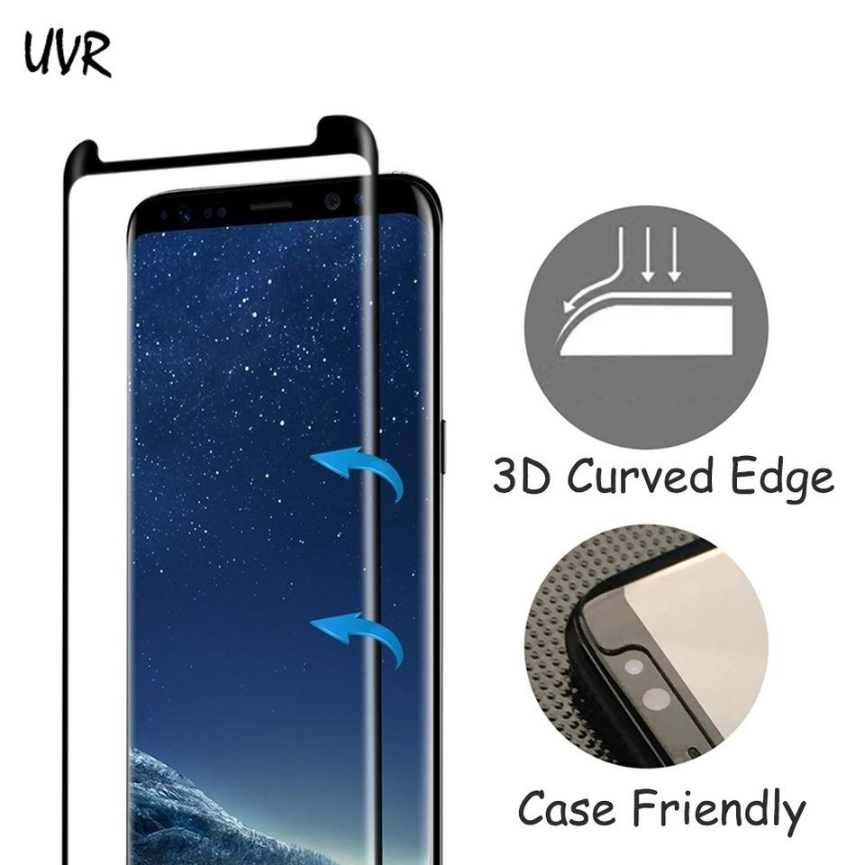 c50fcd962 película de vidro curva + traseira + capa samsung galaxy s8. Carregando  zoom.